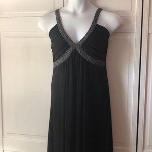 Black Torrid formal dress, full length, 1X